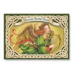Irish Angel Christmas Cards - 25 Cards / 26 Envelopes